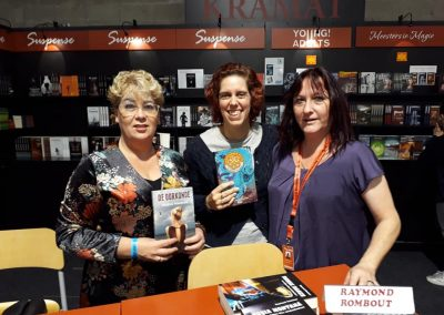Op de boekenbeurs in Antwerpen 2018